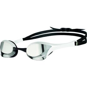 arena Cobra Ultra Swipe Mirror Maschera, argento/bianco